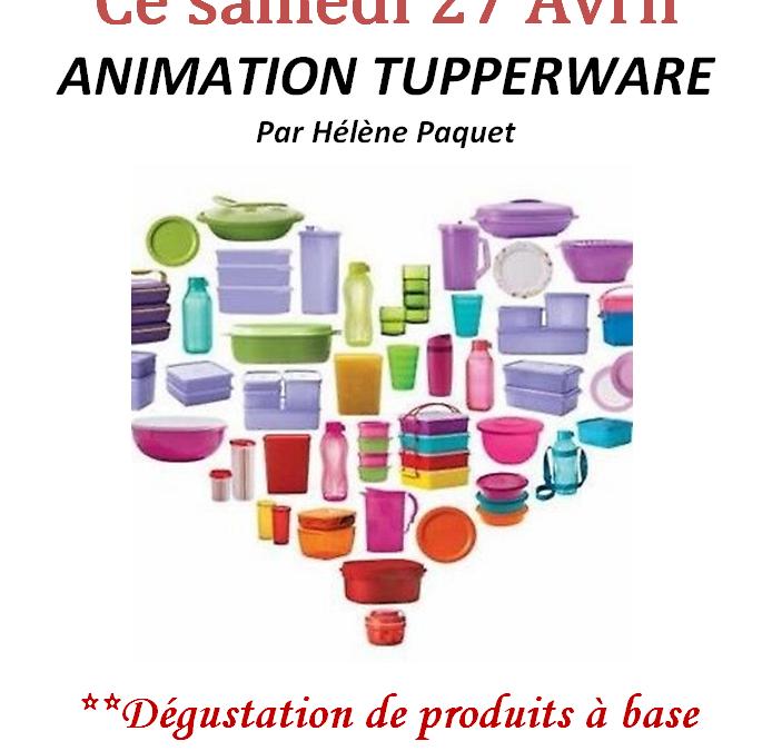 Animation Tupperware