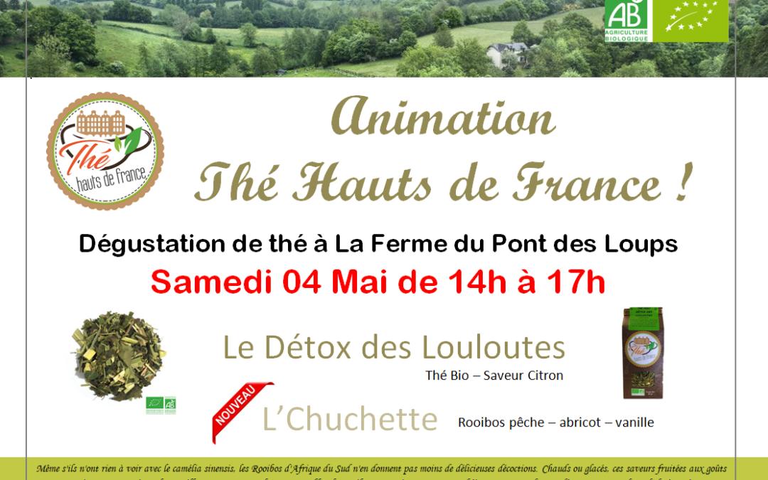 Animation Thé Hauts de France