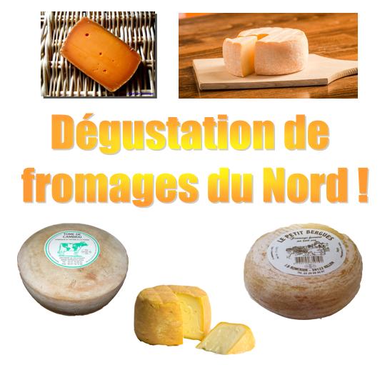 Venez goûter les fromages du Nord !