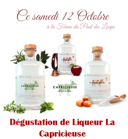 Dégustation de Liqueur La Capricieuse
